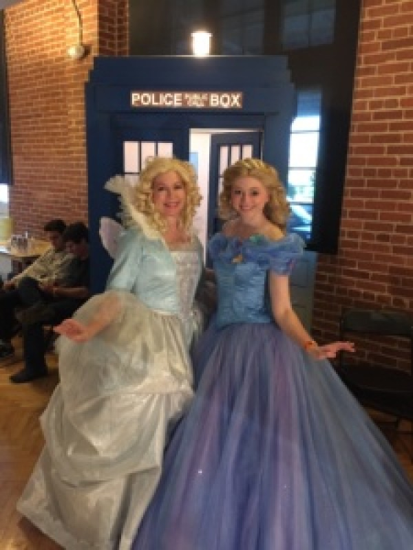 Cinderella and Fairy Godmother Cosplay
