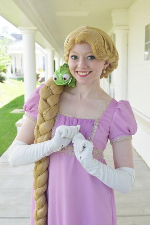 Regency Rapunzel Cosplay