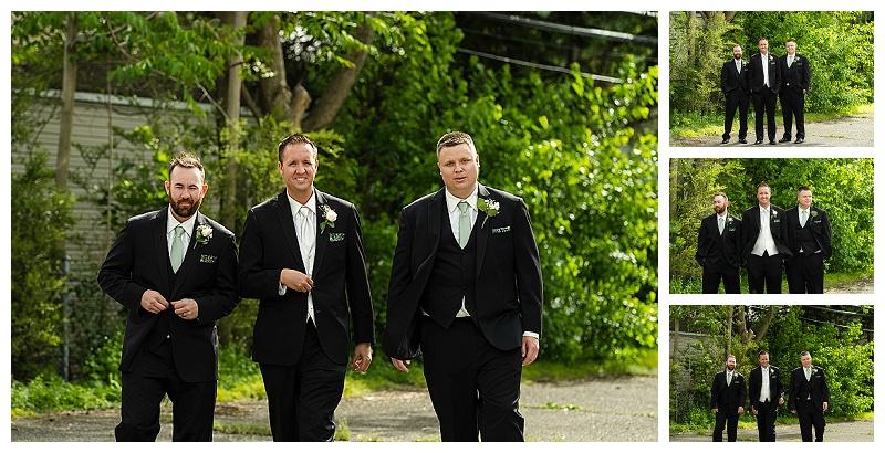wedding photos groom and groomsmen