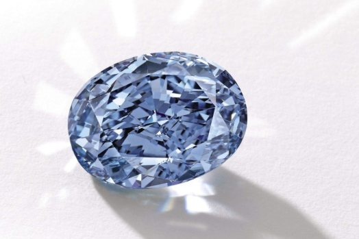 Shirley Temple Blue Diamond Jewelry Auction