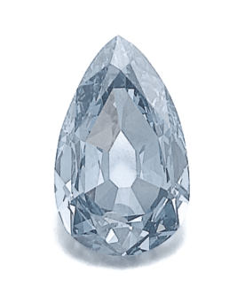 7.32 Ct Superb Fancy Vivid Blue Diamond Ring Jewelry Auction