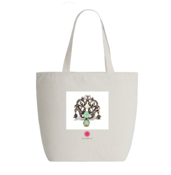 Limited Edition Katie Callahan & Co. Tote Bag w/Zipper