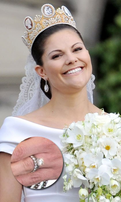 Wedding Wednesday: Crown Princess Victoria of Sweden
