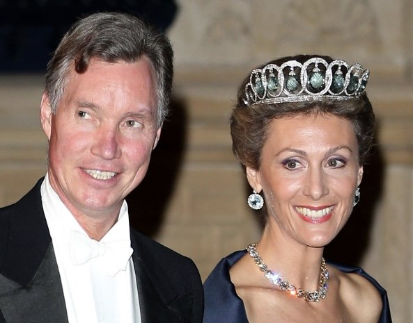 Royal Spanish Tiaras: Queen Ena's Aquamarine Tiara