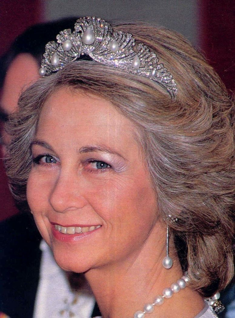 Royal Spanish Tiaras: The Mellerio Shell Tiara