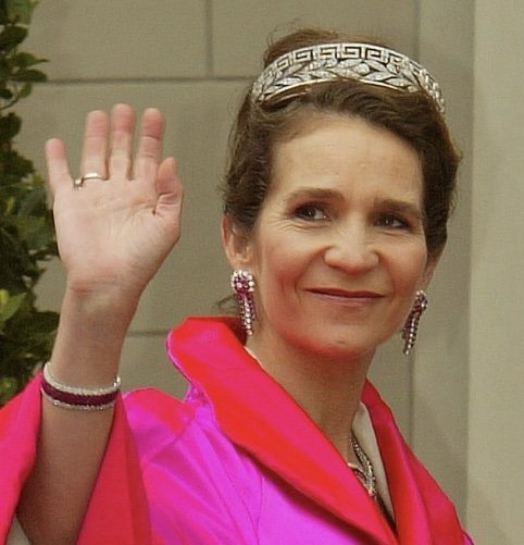 Royal Spanish Tiaras: The Marichalar Meander Tiara