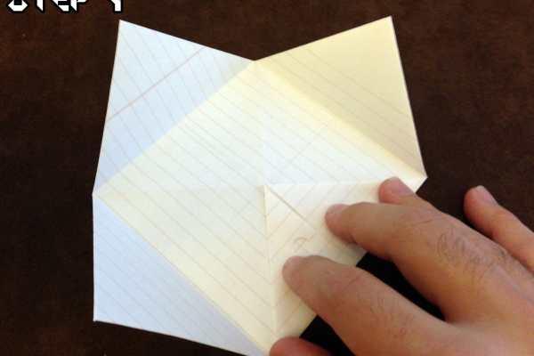 Origami Fortune Teller Tutorial on Katie Crafts https://www.katiecrafts.com