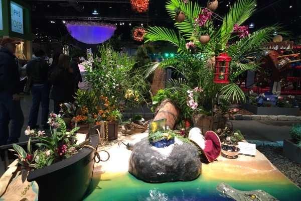 Philly Flower Show 2015 Recap by Katie Crafts; https://www.katiecrafts.com