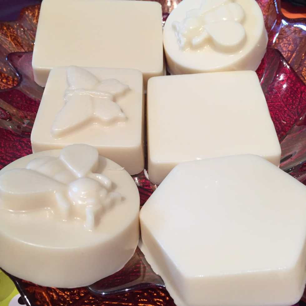 DIY 2 Ingredient Milk & Honey Soap Tutorial by Katie Crafts; http://www.katiecrafts.com