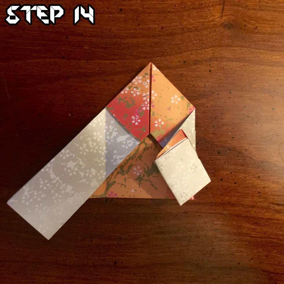 Origami Santa Claus Tutorial on Katie Crafts https://www.katiecrafts.com