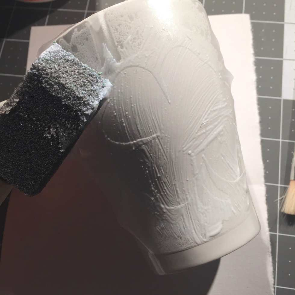 DIY Glitter Mug Tutorial on Katie Crafts; http://www.katiecrafts.com