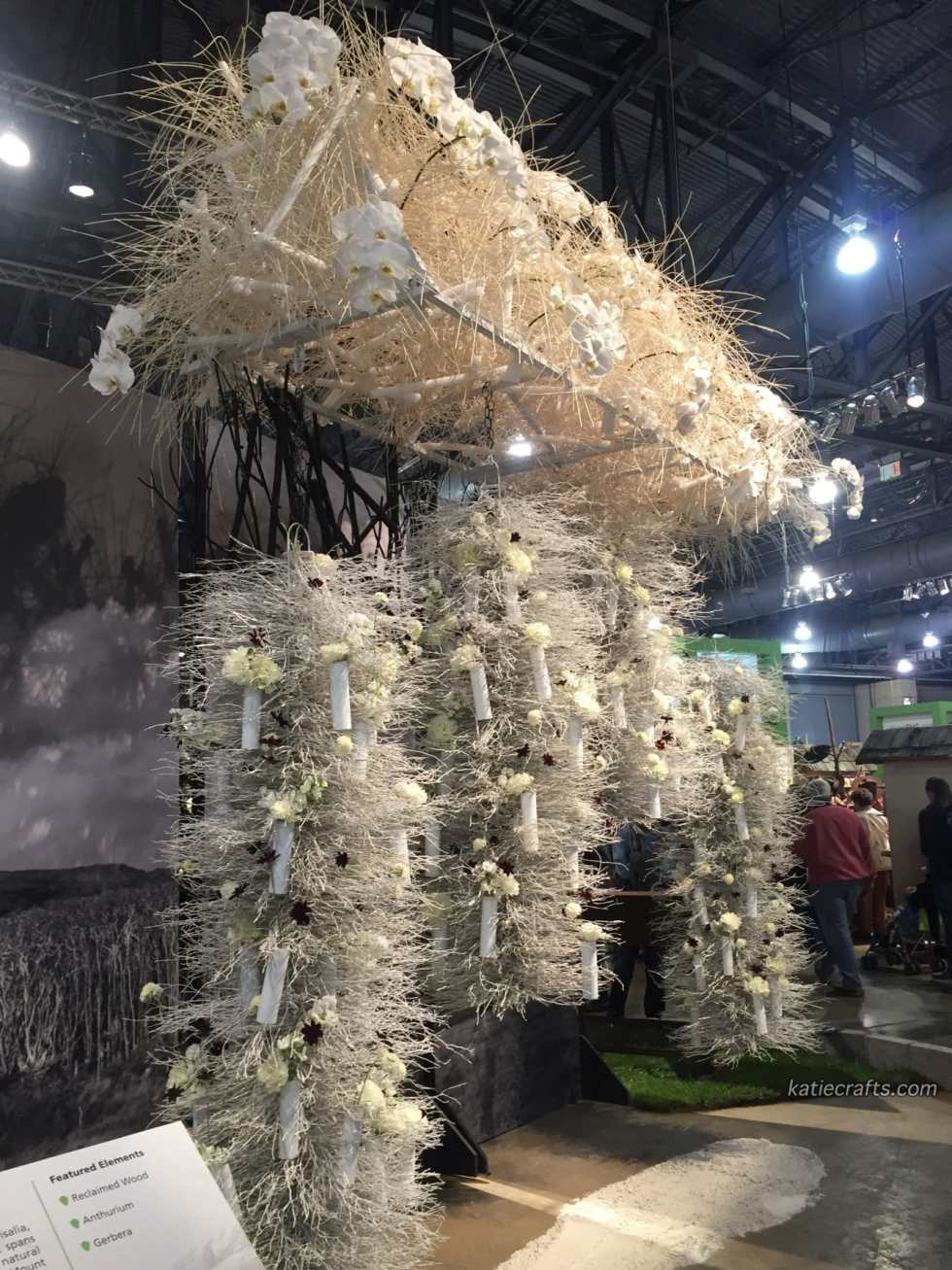 2016 Philly Flower Show Recap on Katie Crafts; http://www.katiecrafts.com