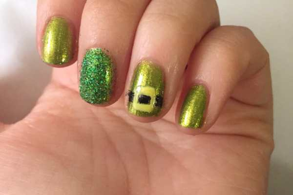 St. Paddy's Day Nail Art 2016 by Katie Crafts; https://www.katiecrafts.com