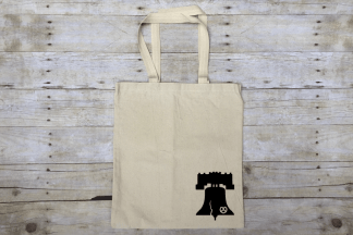 Big Liberty Bell Market Tote Bag