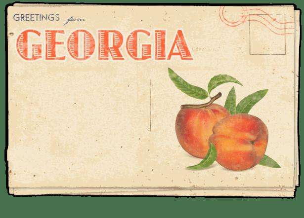 Postcard – Georgia