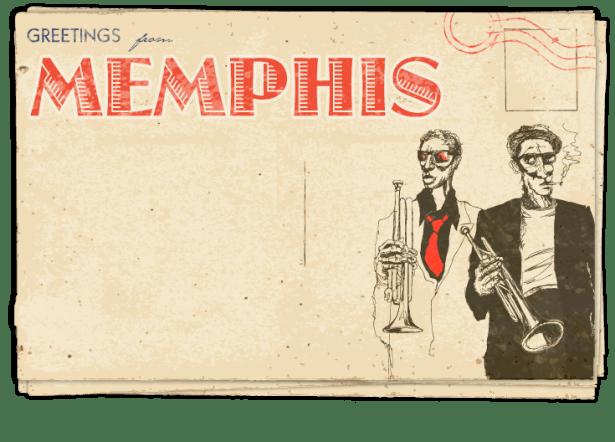 Postcard – Memphis