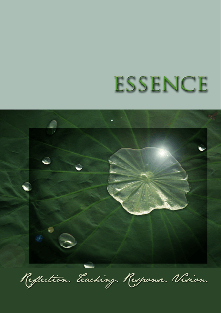 Image of the Essence Workbook