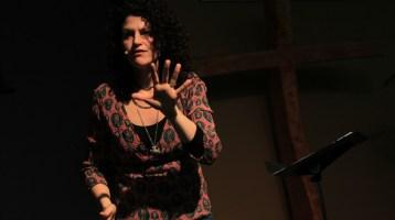 Image of Katie deVeau speaking