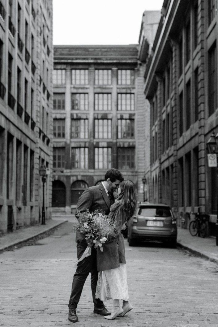 old montreal quebec wedding vintage