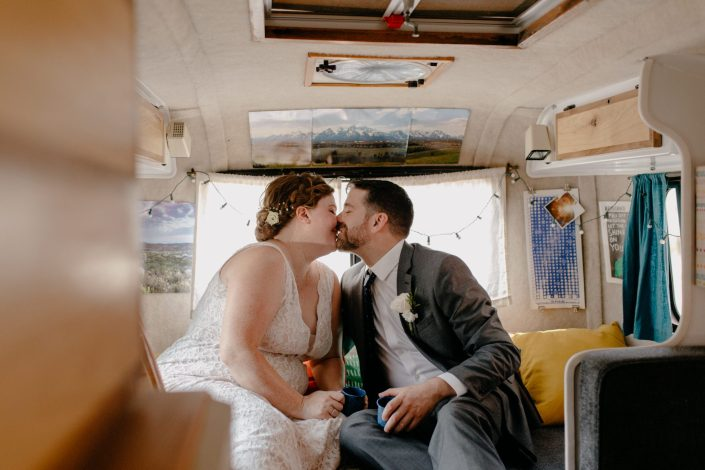 portraits in a vintage rv