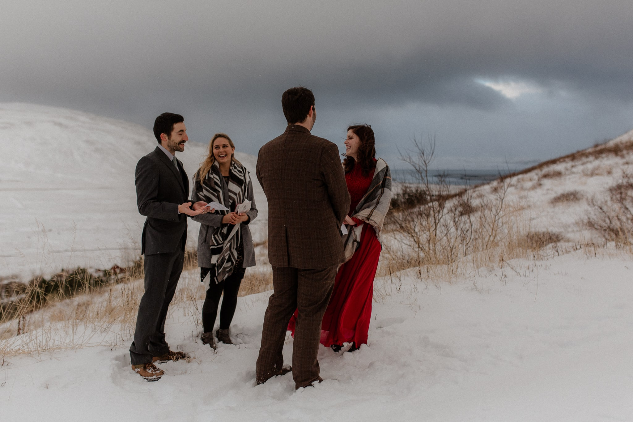 Moody Iceland Elopement - Katie Jean Photography