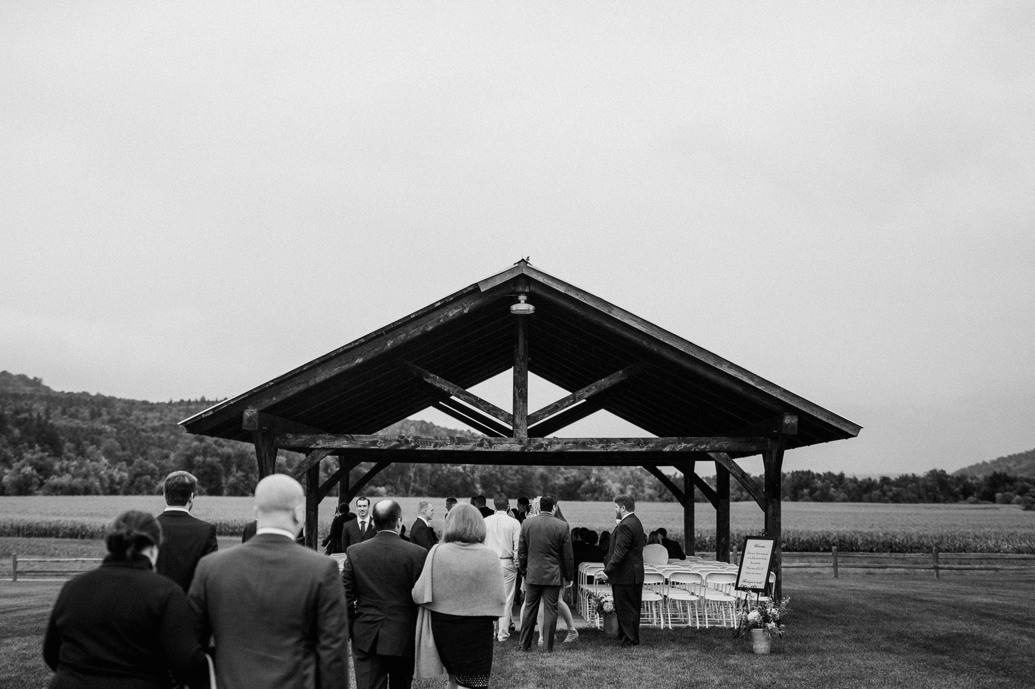 Wedding at Boyden Valley Winery Cambridge Vermont - Katie Jean Photography