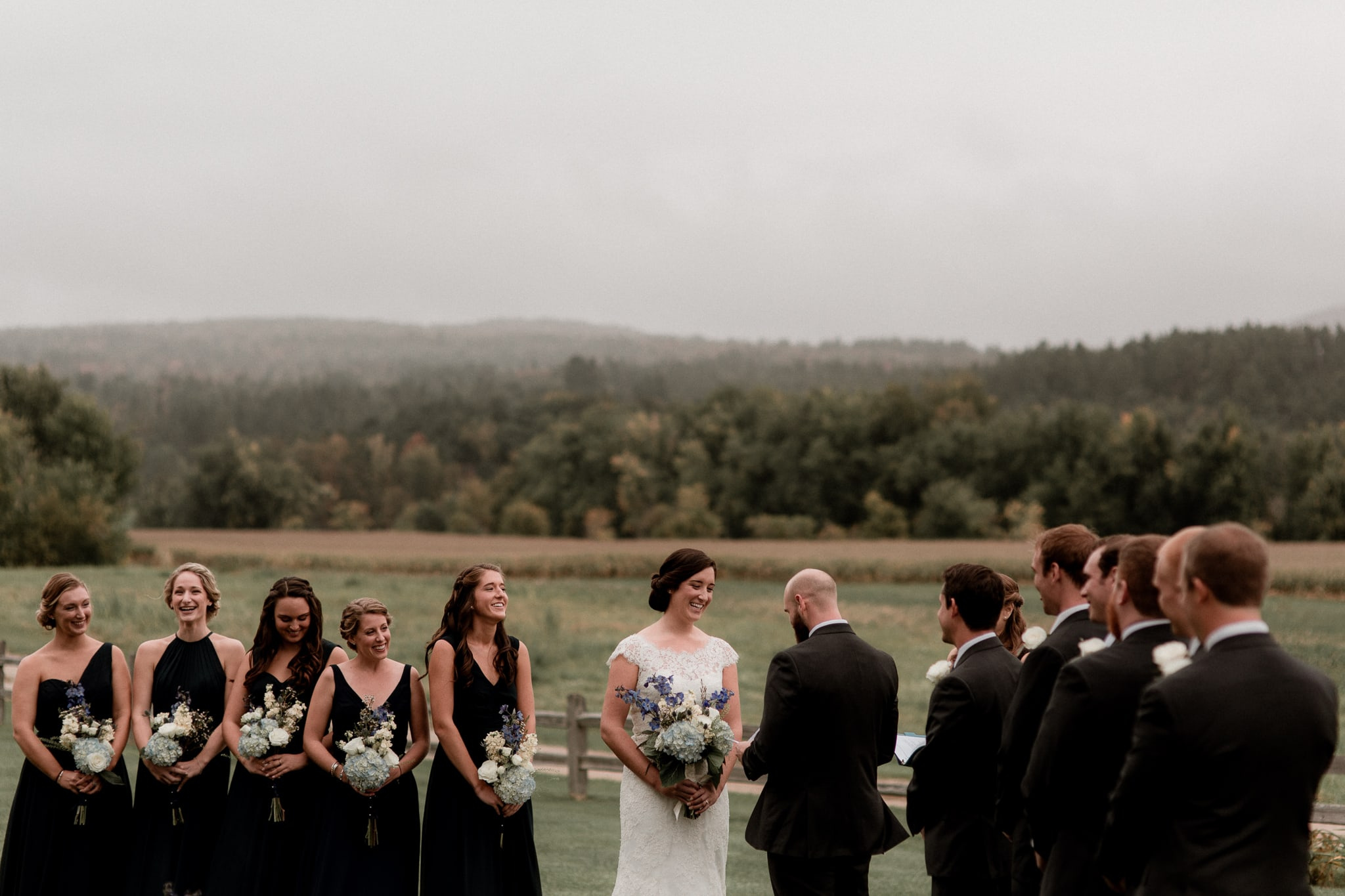 Wedding at Boyden Vallery Winery Cambridge Vermont - Katie Jean Photography
