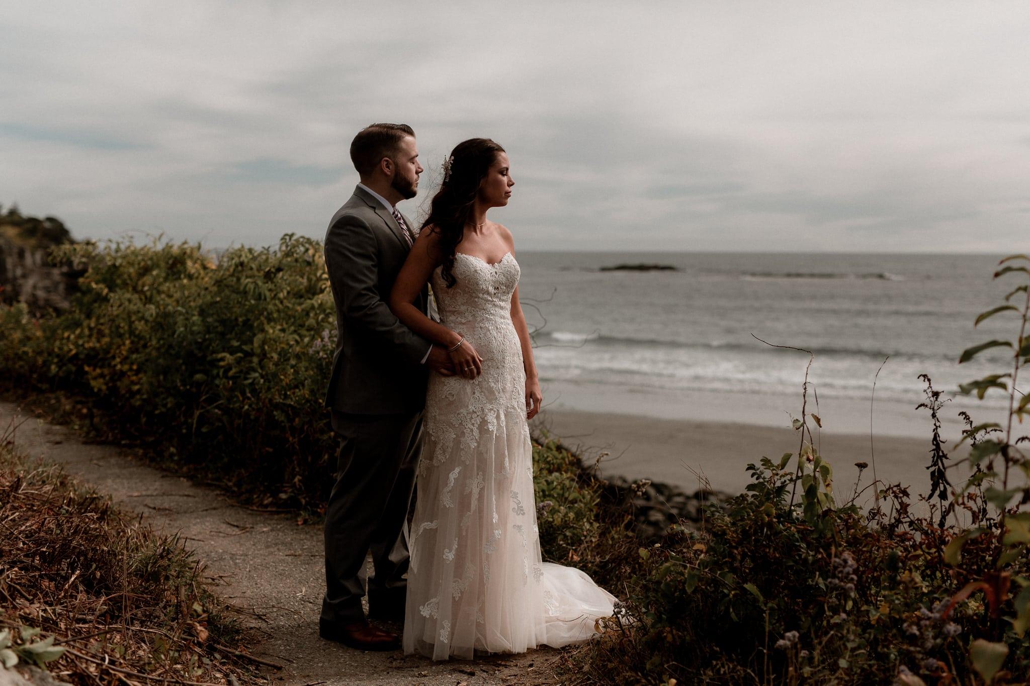 Intimate Wedding York Maine - Katie Jean Photography
