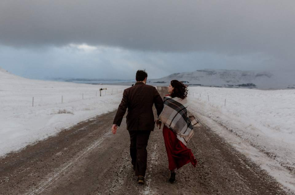 Molly and Eric // Iceland Elopement