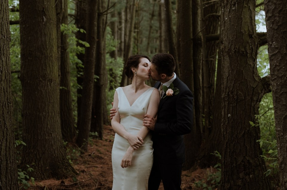 Vinca and Dustin // Backyard Vermont Wedding