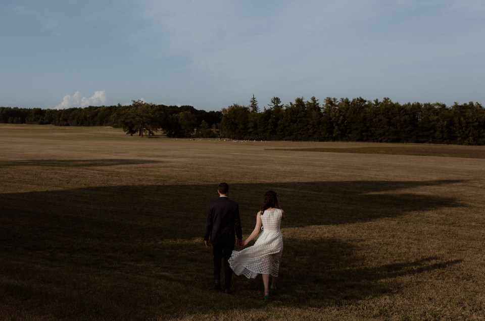 Rachel and Michael // Shelburne Farms Wedding