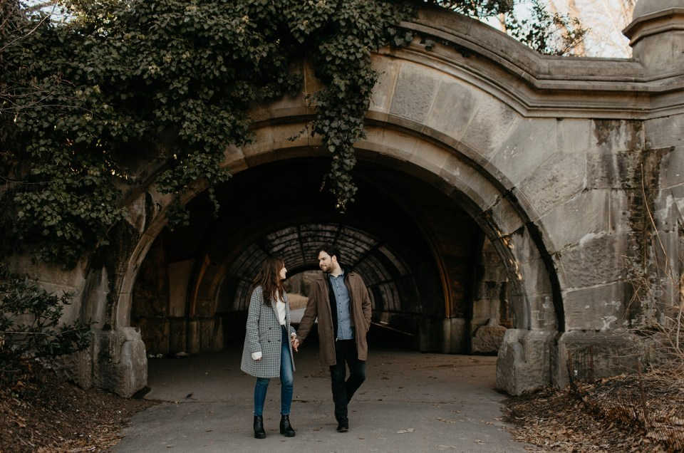 Allison and Andrew // Brooklyn Engagement Photos
