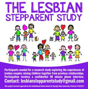 online ad for lesbian stepparent study