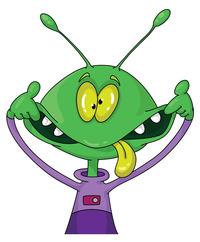crazy alien