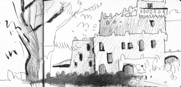 gillette sketch