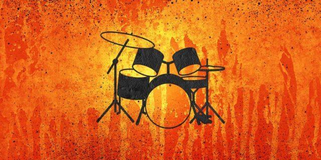 Drum-Set-orange