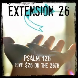 Extension 26 giving initiative via Katie M Reid