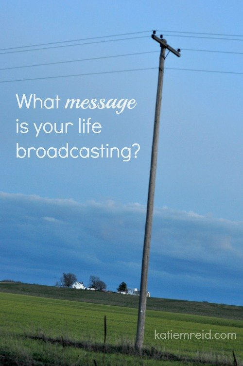 Life Message Broadcast for Katie M Reid