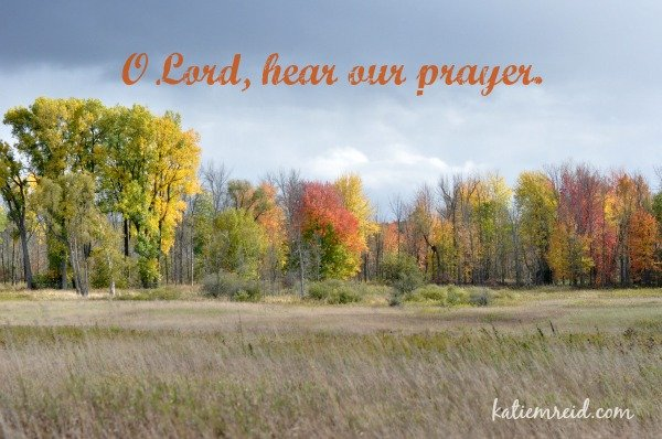 O Lord heart our prayer by Katie M. Reid