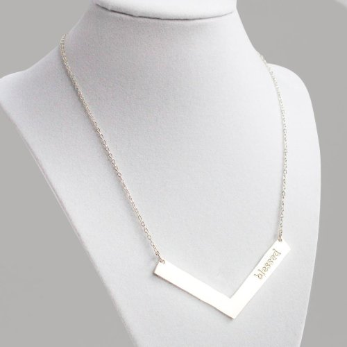 Blessed necklace via Fashion and Compassion
