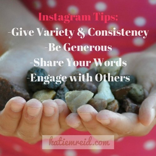 Instagram Tips by Katie M Reid