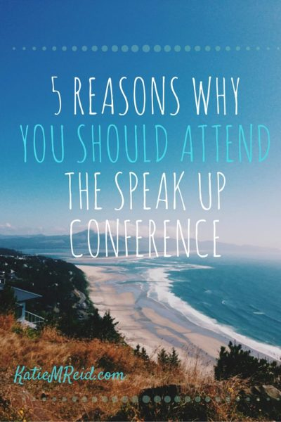 Five reasons why you should attend Carol Kent's Speak Up Conference