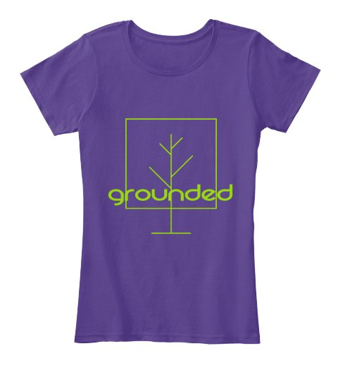 Grounded Shirt designed by Katie M. Reid for #write31days series