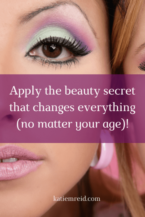 Apply the beauty secret that changes everything, no matter what your age!