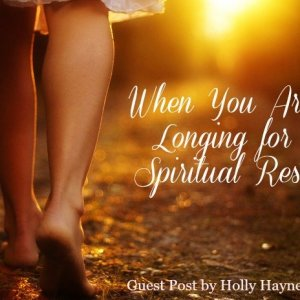 Spiritual rest by Holly Mayes-Haynes
