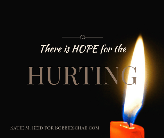 There is hope for the hurting quote by Katie M Reid Photography