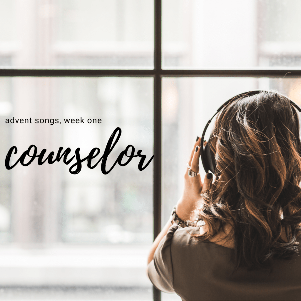 advent songs 2016: counselor cover photo