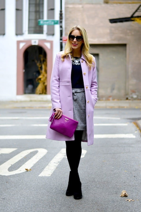 Lady in Lavender  30 off at J Crew  Katies Bliss