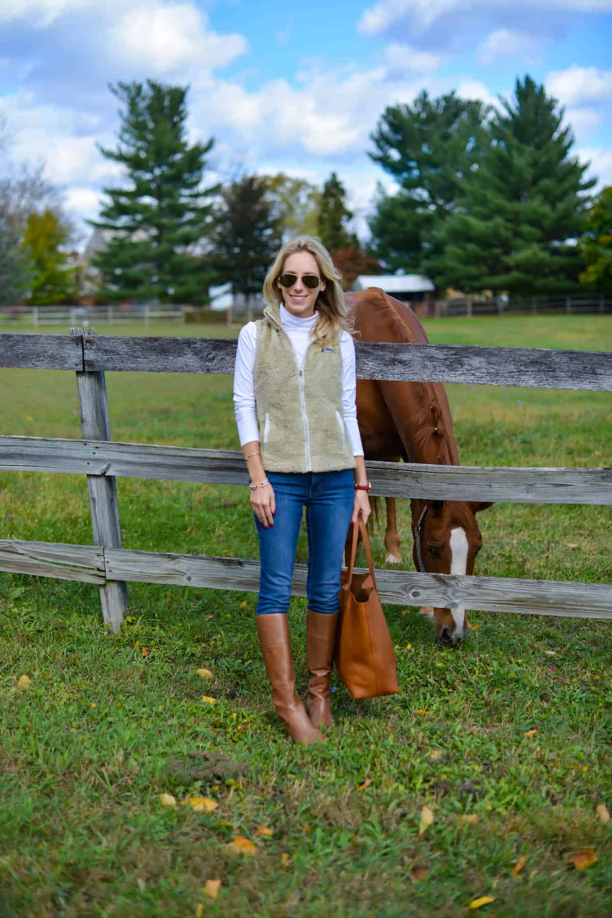 Equestrian Style Wearing Patagonia Katie S Bliss