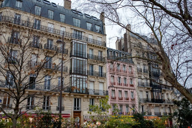 Paris Apartment Buildings